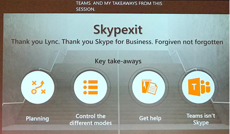 Skypexit - from Skype to Teams
