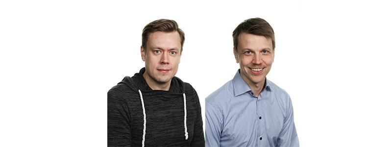 Esittelyssä Samu Lipsanen ja Lauri Huikko