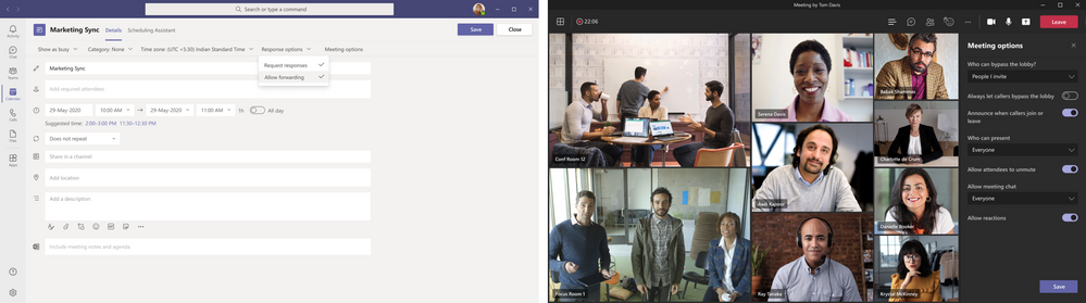 thumbnail image 2 of blog post titled              Secure and compliant collaboration with Microsoft Teams